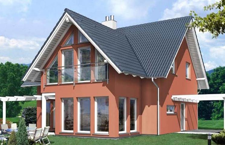 Покраска фасада частного дома цена